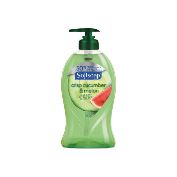 Softsoap Crisp Cucumber & Melon Hand Soap, 11.25 oz