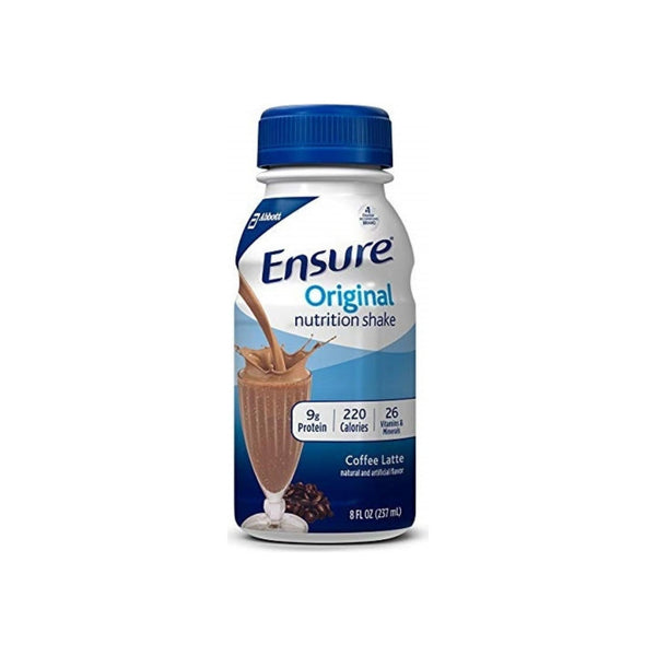 Ensure Original Therapeutic Nutrition, Coffee Latte, 8 oz