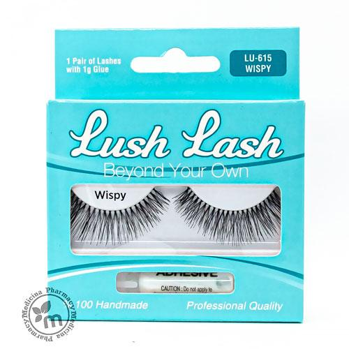 Lush Lash False Eyelashes Wispy LU-615