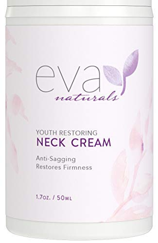 Eva Naturals Neck Firming Cream for Sagging Neck, Wrinkles, Face, Decollete, 2 oz