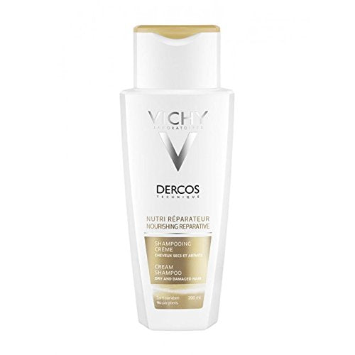 Vichy Dercos Nourishing Reparative Cream Shampoo Dry Hair 200ml