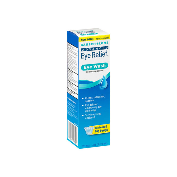 Bausch & Lomb Advanced Eye Relief Eye Wash 4 oz