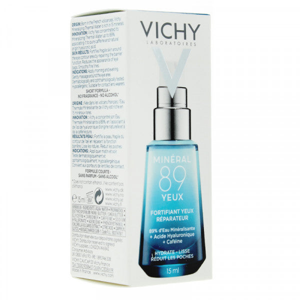 Vichy Mineral 89 Eyes Fortifier - 15 ml