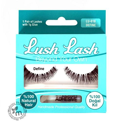 Lush Lash 100% Natural Hair Eyelash Define 618