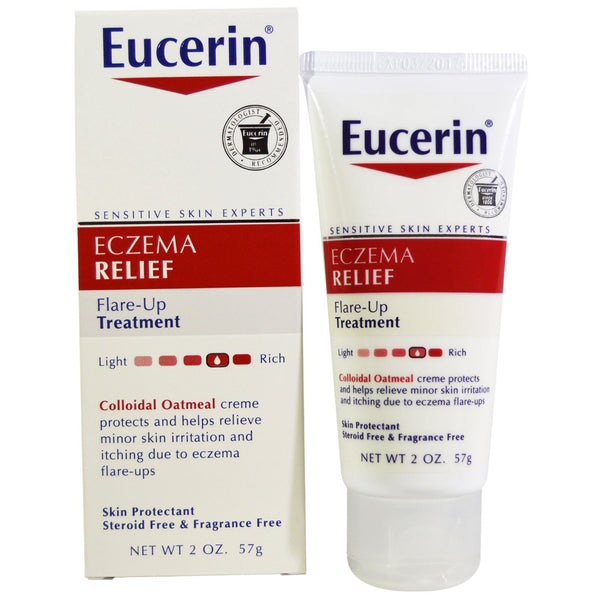 Eucerin Eczema Relief Instant Therapy Body Lotion 2 Ounce