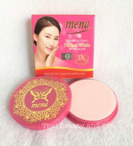 MENA Whitening Cream Perfect White Anti-Acne, Dark Spot, Blemish, Freckle SPF20