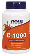 Now Foods Vitamin C-1000 Sustained Release - 100 Tablets