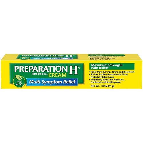 Preparation H Maximum Strength Hemmorhoidal Cream-1.8 oz