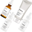 The Ordinary Caffeine Solution and Egcg, 30ml + Niacinamide 10% Zinc 1% (30 ml)+Natural Moisturizing FactorsHA 100 ML + The Ordinary Supersize Niacinamide 10% Zinc 1% (60ml)