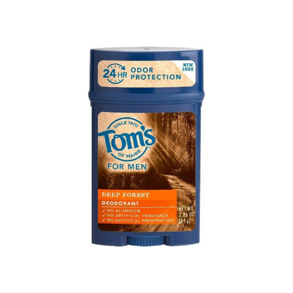 Tom's of Maine For Men Deep Forest Deodorant 2.25 oz