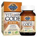 Garden of Life Vitamin Code Raw Iron 30 Vegan Caps