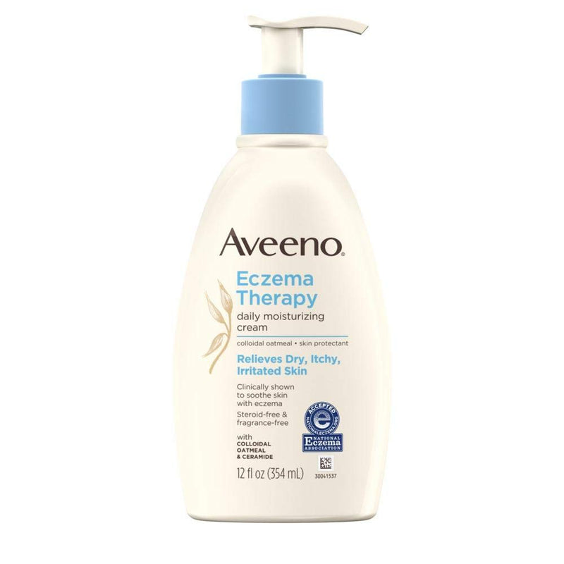 Aveeno Eczema Therapy Moisturizing Cream - 12 Oz