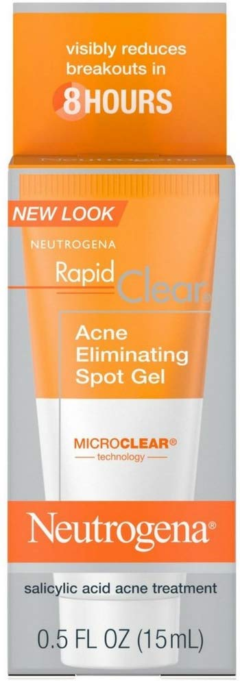Neutrogena Rapid Clear Acne Eliminating Spot Gel, 0.5 Ounce