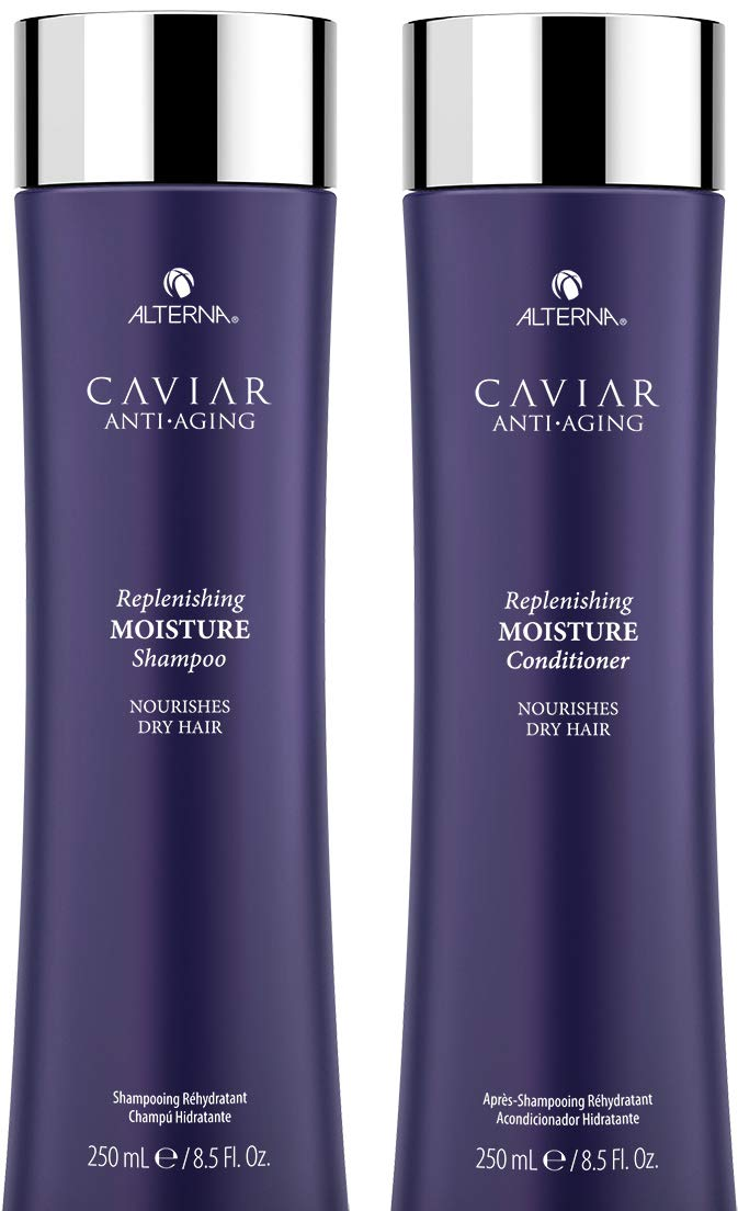 Alterna Caviar Replenishing Moisture Shampoo & Conditioner Duo (8.5 oz each)