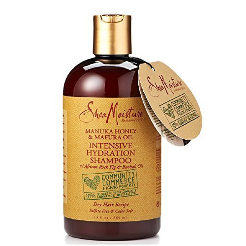 SheaMoisture Manuka Honey and Mafura Oil Intensive Hydration Shampoo, 13 oz