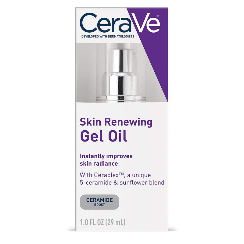 CeraVe Anti Aging Gel Serum for Face to Boost Hydration | Packaging May Vary