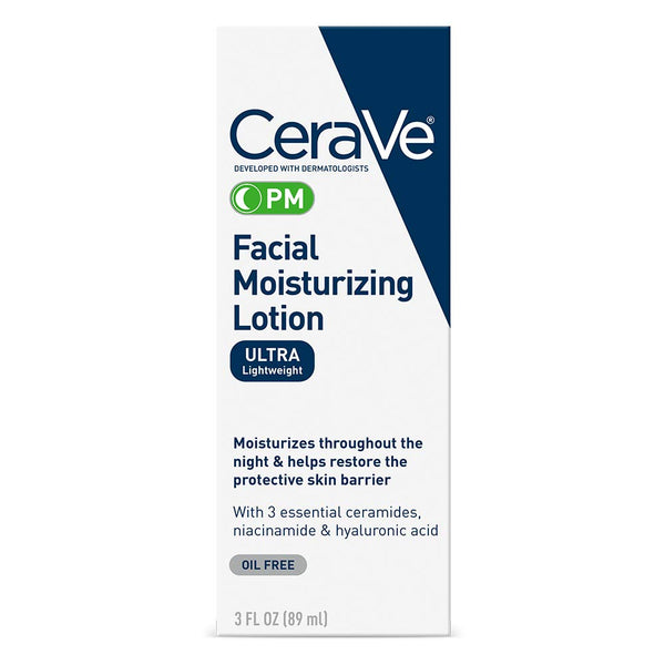 Cerave Facial Moisturizing Lotion Pm 3 Oz(89ml)