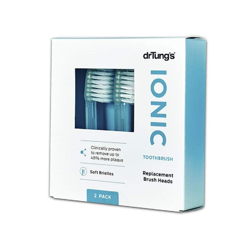 Dr. Tungs Ionic Toothbrush Replacement Heads