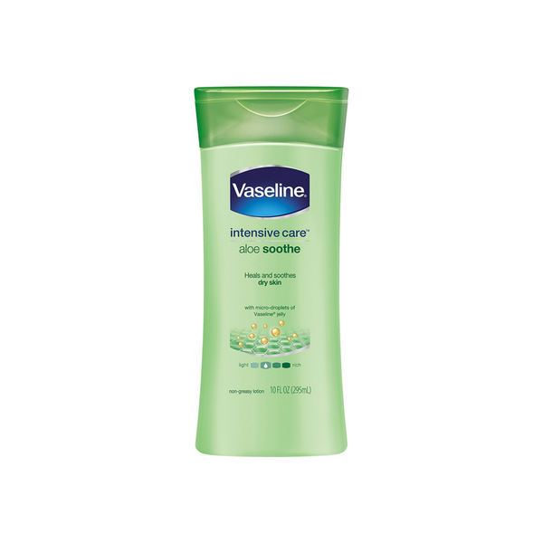 Vaseline Intensive Care Aloe Soothe Lotion 10 oz