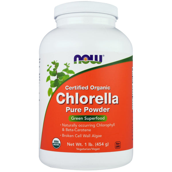 NOW Foods Chlorella Pure Powder, 1 Pound