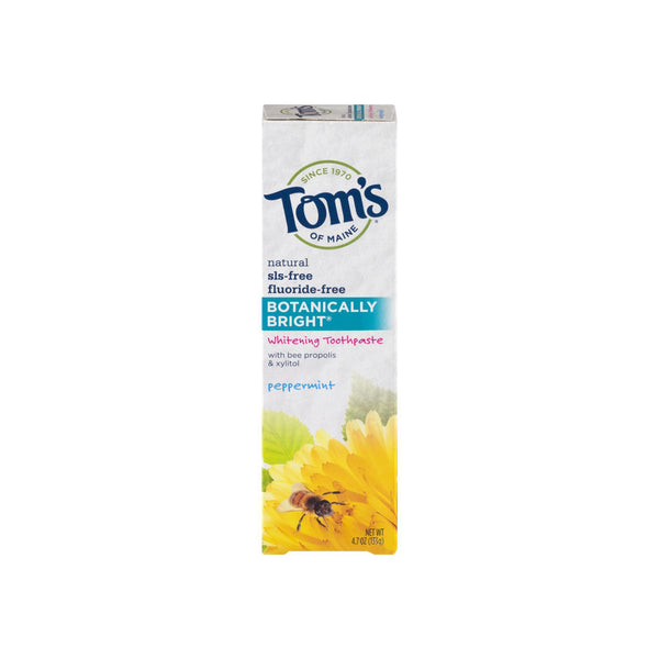 Tom's of Maine Botanically Bright, Peppermint 4.7 oz