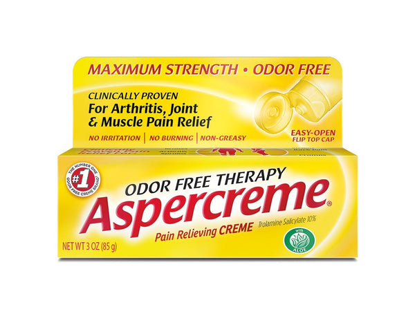 Aspercreme Pain Relieving Creme with Aloe - 3 oz by Aspercreme
