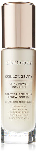 bareMinerals SkinLongevity Vital Power Infusion Serum, 1.7 Ounce