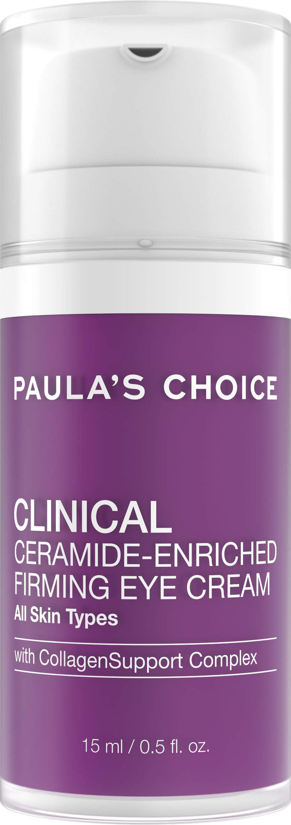 Paula's Choice CLINICAL Ceramide Firming Eye Cream with Vitamin C and Retinol, for Fine Lines, Wrinkles and Loss of Firmness