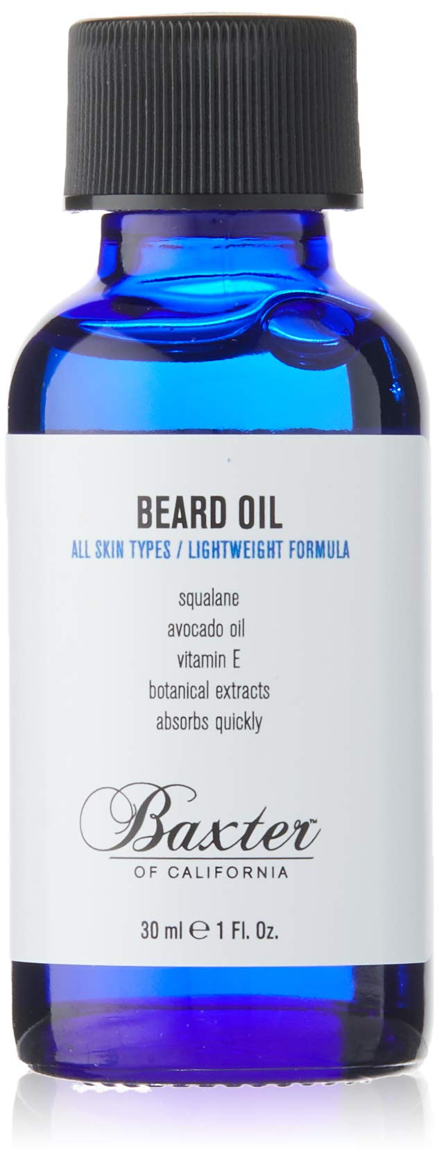 baxter of california beard oil, 1 oz.