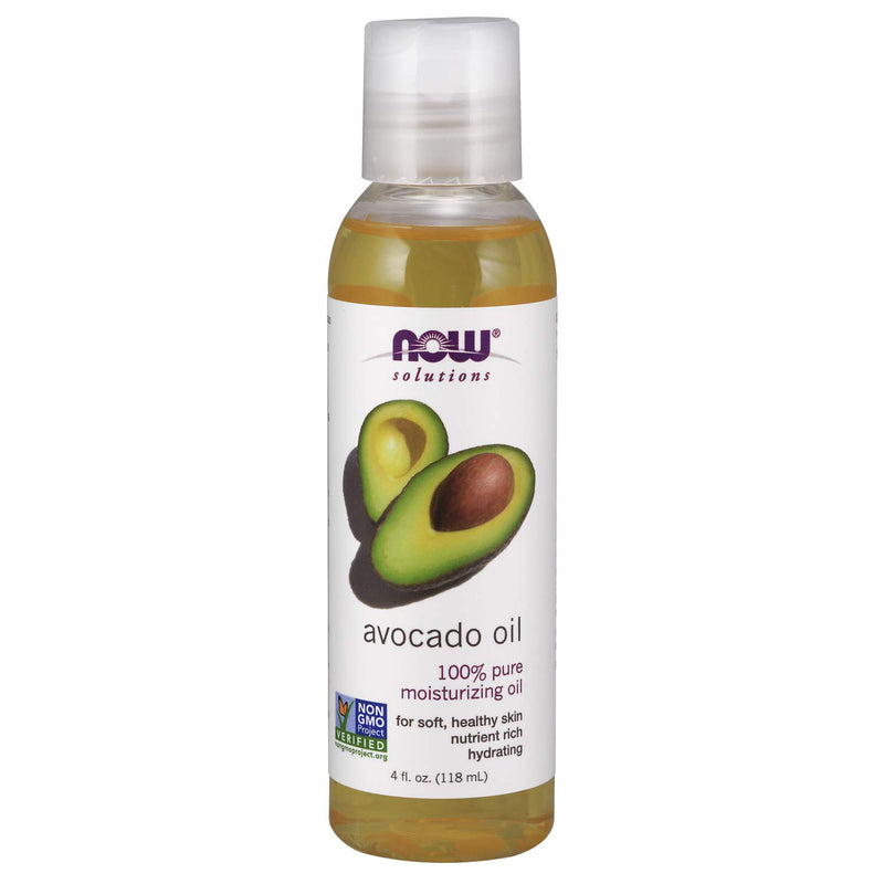 Now Foods Avocado 100% Pure Moisturizing Oil - 118 ml