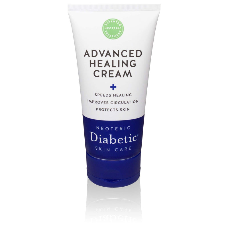 Neoteric Diabetic - Advanced Healing Cream, Speeds Healing and Improves Circulation Non-Greasy, 4-Ounce