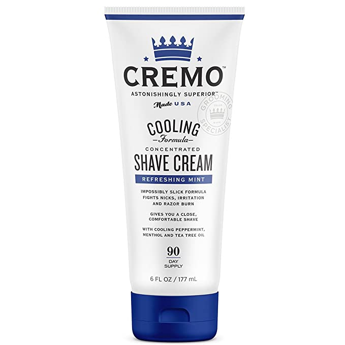 Cream Refreshing shaving cream, cooling, Total 1
