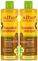 Alba Botanica,Hawaiian Duo set Conditioner and Shampoo, 12 Ounce