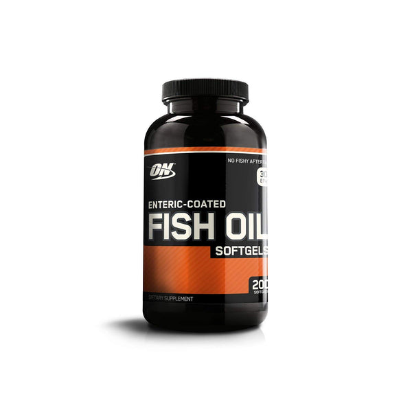 Optimum Nutrition Enteric-Coated Fish Oil Softgels - 300 mg - 200 Softgels