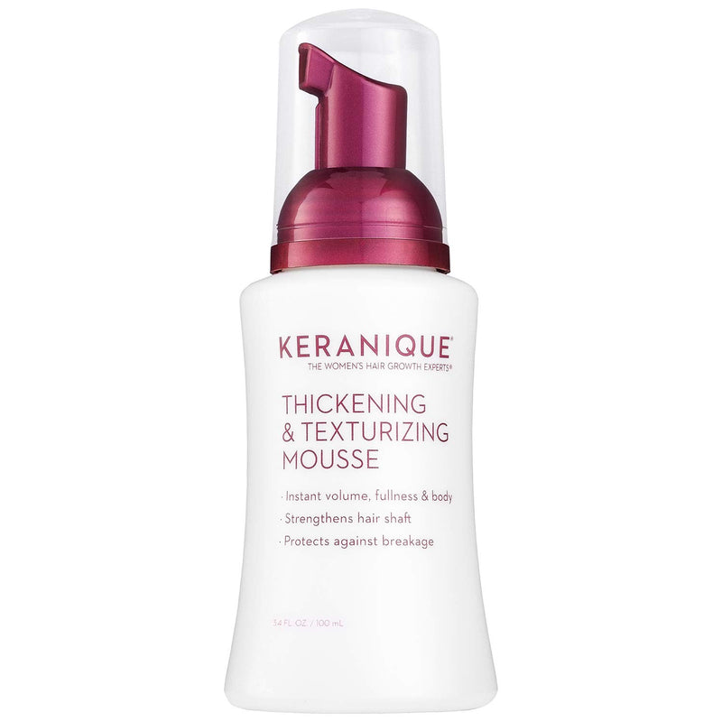 Keranique Thickening & Texturizing Mousse 3.4 fl. oz.