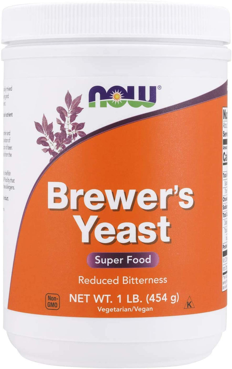 Now Foods Brewer's Yeast Reduced Bitterness - 454 g