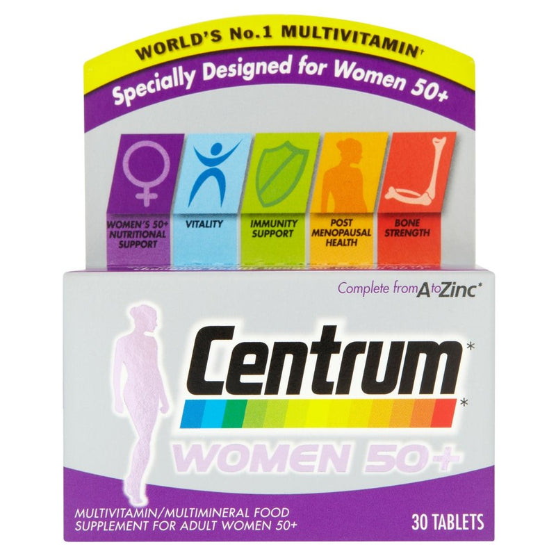 Centrum Multivitamin Women 50 Plus - 30 Tablets