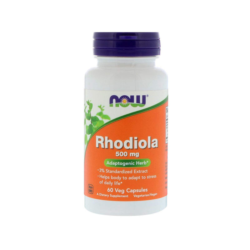 Now Foods Rhodiola, 60 Vcaps 500 mg