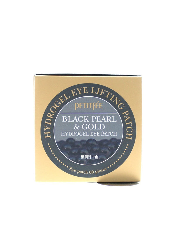 PETITFEE Black Pearl & Gold Hydrogel Eye Patch - 60 sheet