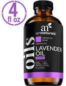 Art Naturals Lavender Essential Oil 4 oz 3pc Set - Includes Aromatherapy Signature Zen Blend 10ml + Travel Size Lavender Oil 10ml - Therapeutic Grade 100% Pure & Natural From Bulgaria (4 oz)