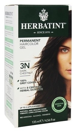 Herbatint Permanent Herbal Haircolour Gel 3N Dark Chestnut - 135 mL