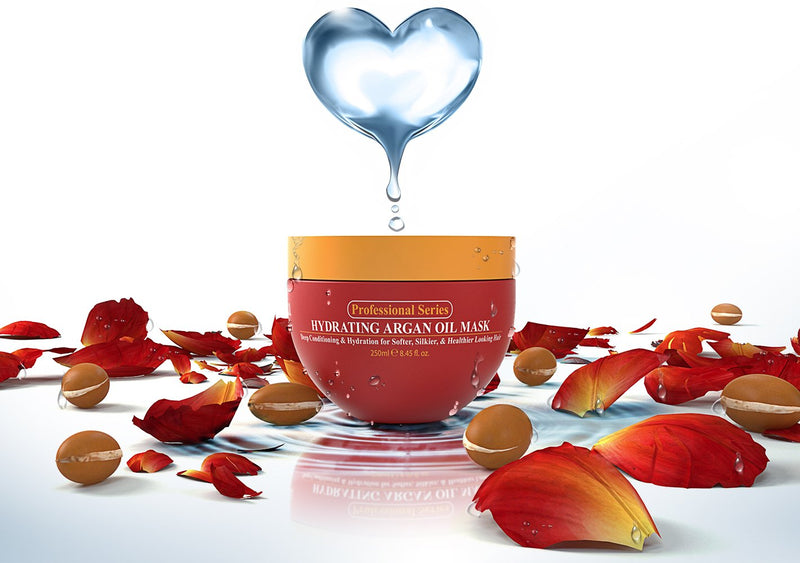Arvazallia Harvazallia Hydrating Argan Oil Hair Mask for Dry or Damaged Hair