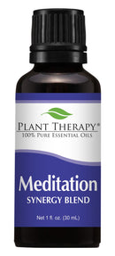 Plant Therapy Meditation Synergy Essential Oil Blend. 100% Pure 30 mL (1 Ounce).