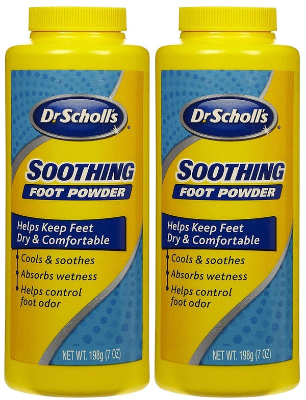 Dr. Scholls Foot Powder 7 Ounce Original (207ml) (2 Pack)