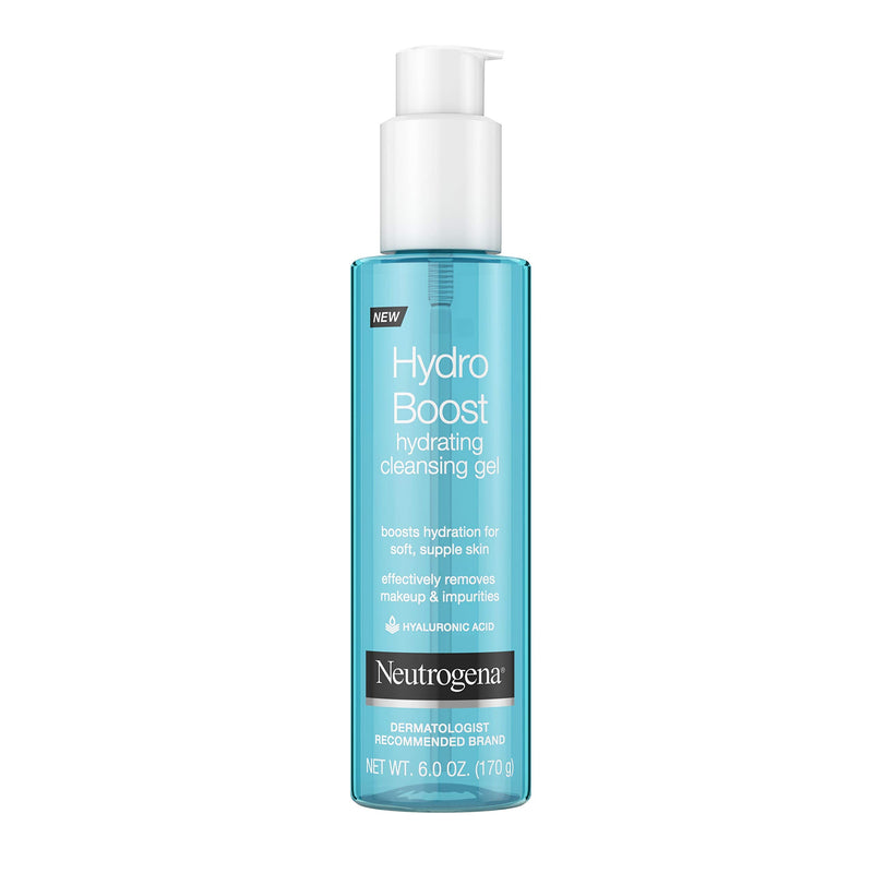 Neutrogena Hydro Boost Hydrating Cleansing Gel 6 Ounce (177ml)