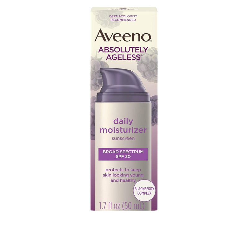 Aveeno Absolutely Ageless Daily Facial Moisturizer with Broad Spectrum SPF 30 Sunscreen