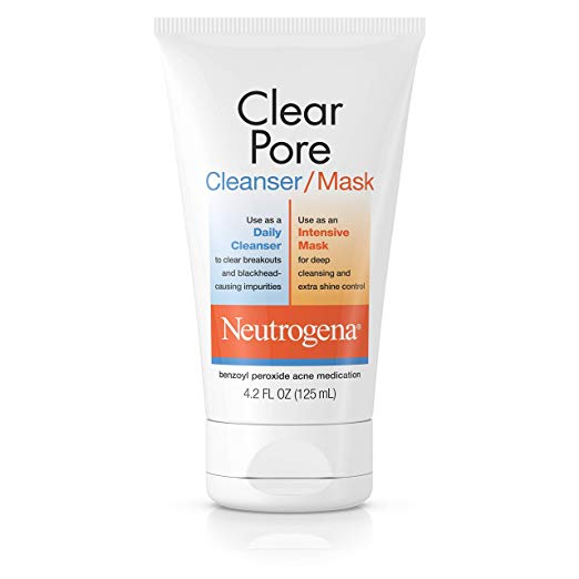 Neutrogena Clear Pore Cleanser/Mask, 124ml