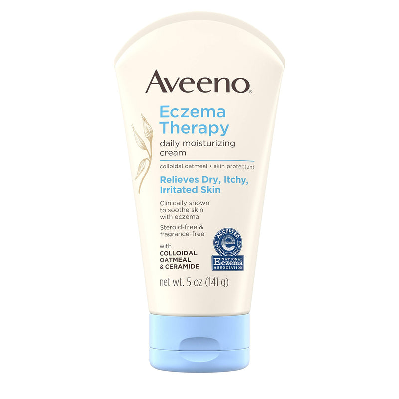 Aveeno Eczema Therapy Moisturizing Cream, 5 Ounce