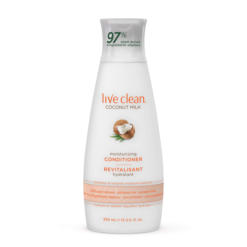Live Clean Moisturizing Conditioner, 12 Fluid Ounce
