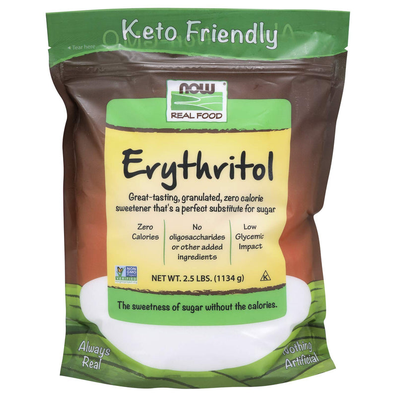 Now Foods Erythritol, 2.5 lbs